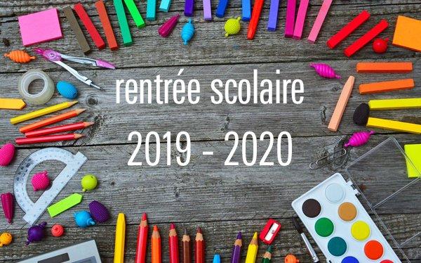 CALENDRIER DE L'ANNÉE SCOLAIRE 2019/2020 AU CAMEROUN